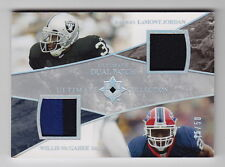 2006 Ultimate Collection LaMont Jordan Willis McGahee Dual Patch (35/50)