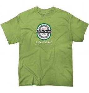 Life-is-Crap-Out-of-Beer-Funny-Shirt-Cool-Gift-Idea-Drink-Classic-T-Shirt-Tee