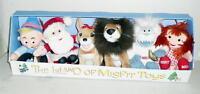 Set 1 Prestige Cvs 2000 Rudolph & The Island Of Misfit Toys Plush W/tag Unused
