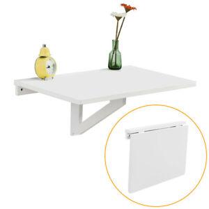Sobuy mesa plegable de pared infantil mesa para port til escritorio fwt03 w es ebay - Mesa infantil plegable ...