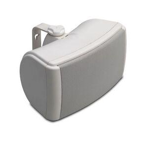 1-x-Q-Install-4-5-QI45EW-Weatherproof-On-Wall-White-Speaker