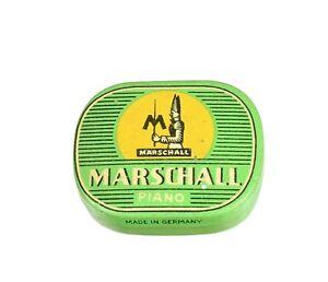 MARSCHALL-Grammophonnadeldose-Nadeldose-Blechdose-alt-needle-tin-gramophone