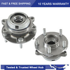 2 Front Wheel Bearing Amp Hub Assembly Fits 2007 2013 Nissan Altima 25l With Abs