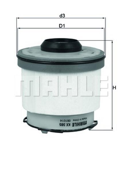 Maxgear 261242 Filtro de combustible