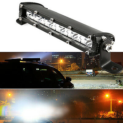"7"" 18W COMBO LED LIGHT BAR OFFROAD DRIVING LAMP WORK FOR SUV ATV CAR 4WD JEEP"