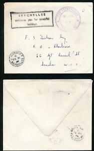 SEYCHELLES-OFFICIAL-PAID-SECRETARIAT-HANDSTAMP-BOXED-1960-UNSEALED-MAIL