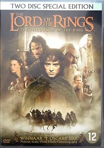 DVD-Lord-Of-The-Rings-The-Fellowship-Of-The-Ring-Two-Disc-Special-Edition