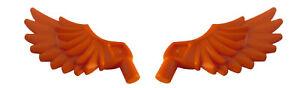 Lego-2-Stueck-Fluegel-in-orange-11100-Federn-gefedert-Firox-Flinx-Foltrax-Frax-Neu