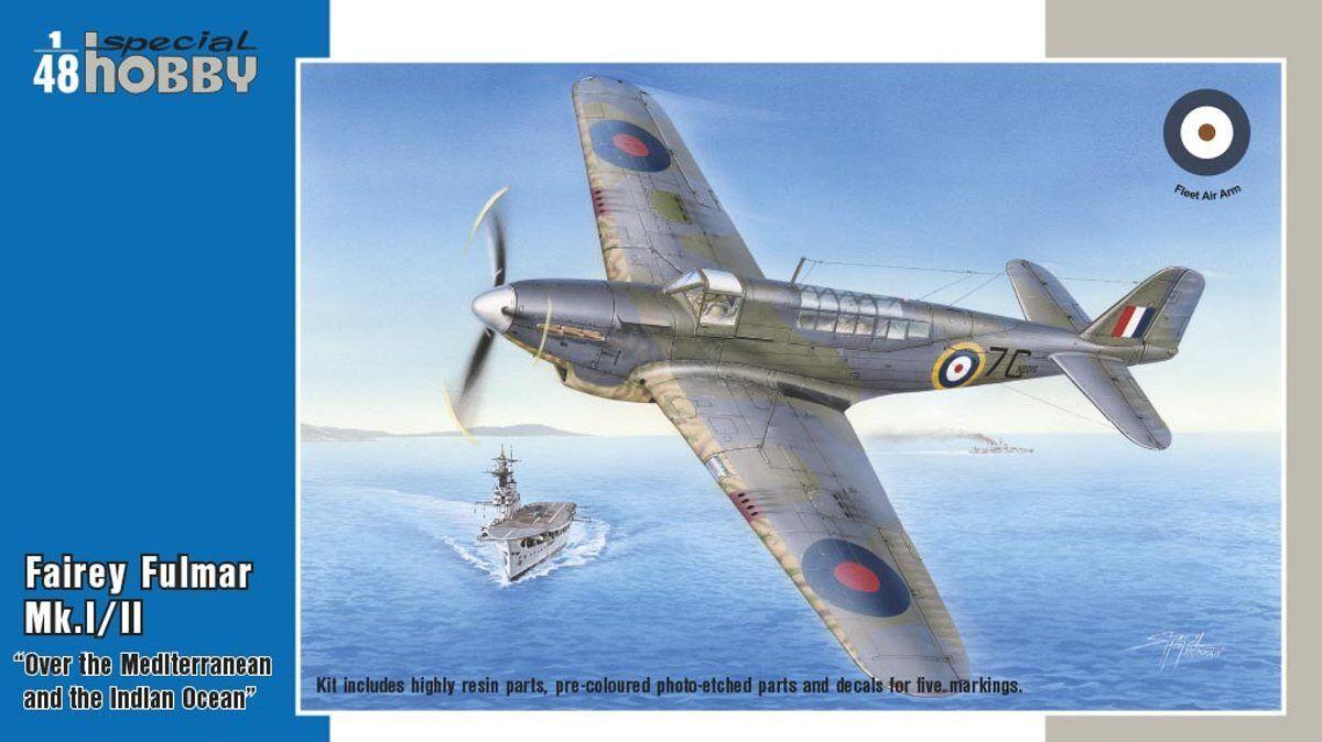Special hobby 1 48 Fairey Fulmar Modello i   II Hi-Tech Versione  48157
