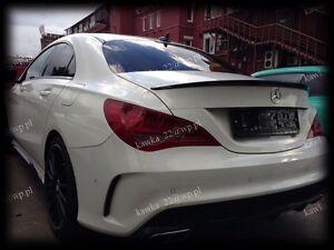 Mercedes-CLA-C117-AMG-Rear-Trunk-Boot-Lip-Spoiler-PRIMED-amp-QUALITY