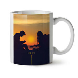 Free Sun Set Sea NEW White Tea Coffee Mug 11 oz | Wellcoda