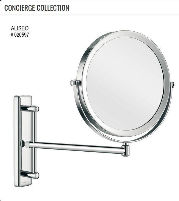 Aliseo Concierge Collection Kosmetik- Rasierspiegel unbeleuchtet