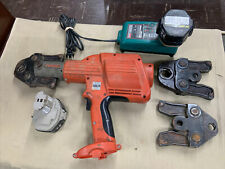 Ridgid 320 E Propress Crimping Tool With3 Jaws 12 34 1 2 Batts Amp Charger