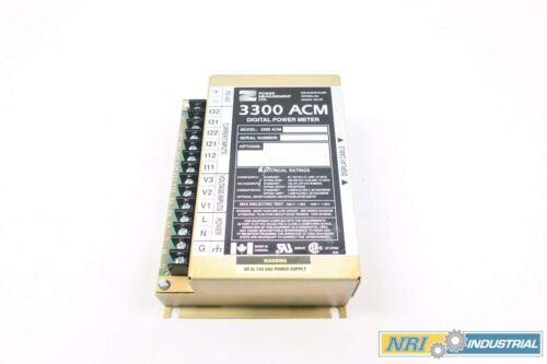 Power Measurement 3300 ACM Digital Power Meter Base Module