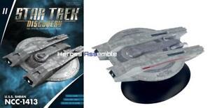 Eaglemoss Star Trek Discovery Spécial Starships # 11 Uss Shran Ncc-1143 Starship
