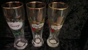 Sehr Schönes Weizenbierglas Glas Gläser Bier Männlich Geschenk