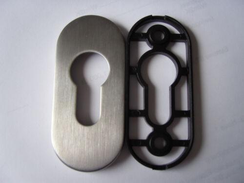 Rahmen Cliprosette 813//6 8mm PZ Edelstahl