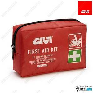 FIRST-AID-KIT-PRONTO-SOCCORSO-MOTO-AUTO-ATV-BICI-EMERGENZA-GARZE-GIVI-S301