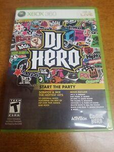 DJ Hero (Microsoft Xbox 360, 2009)(Complete)(Tested)