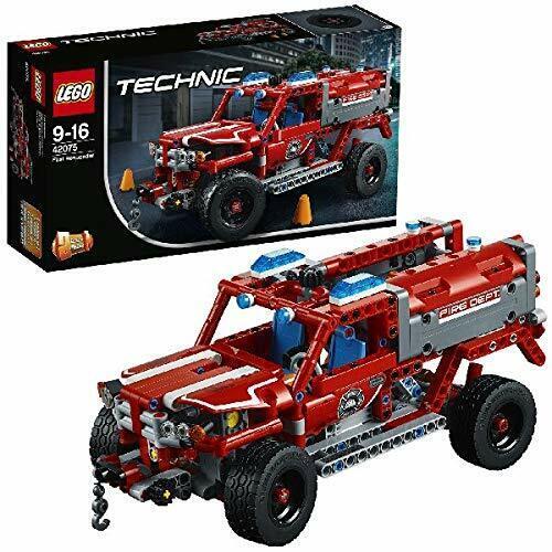 Lego 42075 Technic 1 en 2-Modèle First Responder & Fire Racer 2018 Building Set