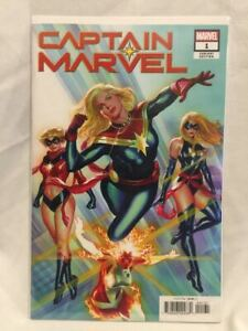 CAPTAIN-MARVEL-1-ALEX-ROSS-VARIANT-1-50-MARVEL-COMICS-2019-NM