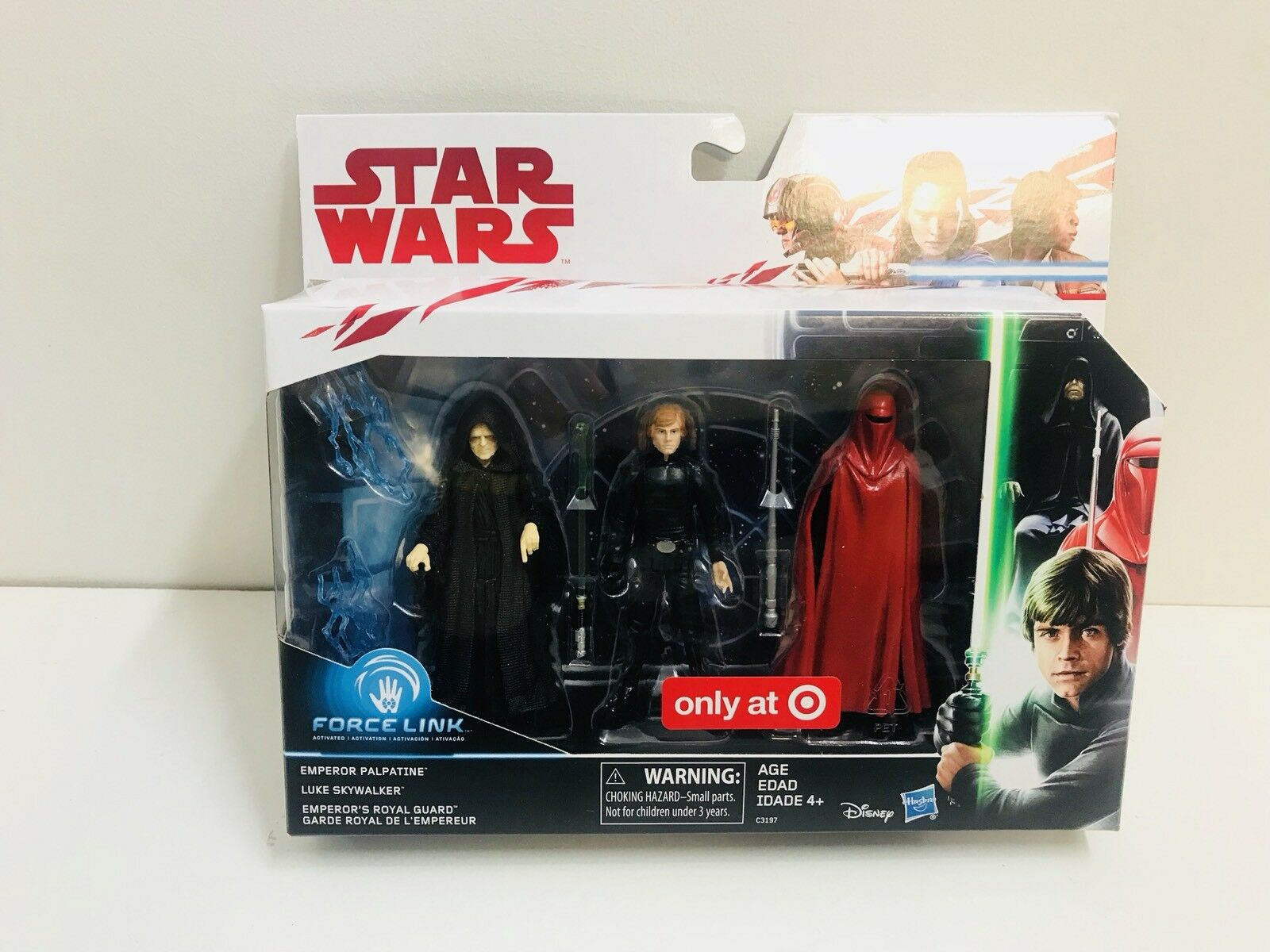 Star Wars Emperador Luke Jedi & Royal Guard Figura Set-us objetivo exclusivo