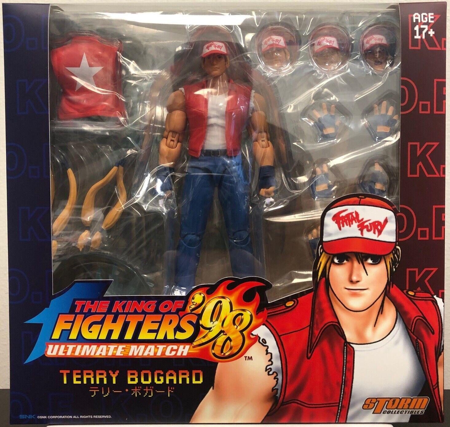 Storm Collectibles 1 12 Terry Bogard King of Fighters 98 Action Figure IN STOCK