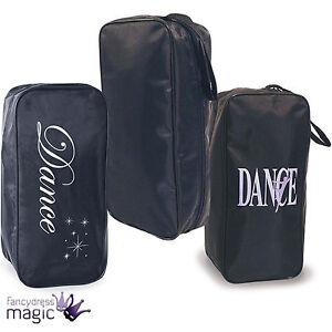 Image Is Loading Black Dance Shoe Bag Holder Childrens S Tap