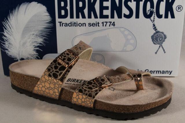 bbd94d8f9204 Birkenstock Gizeh Toe post Splitter Mules Mules Cooper Birko Flor New