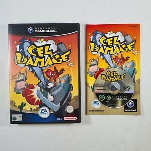Daño celular Nintendo Gamecube Juego Nintendo PAL con manual y GRATIS UK FRANQUEO