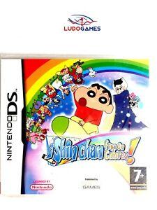 Shin-Chan-Flips-en-Couleurs-Nintendo-DS-Pal-Eur-Scelle-Videojuego-Neuf-Nouveau