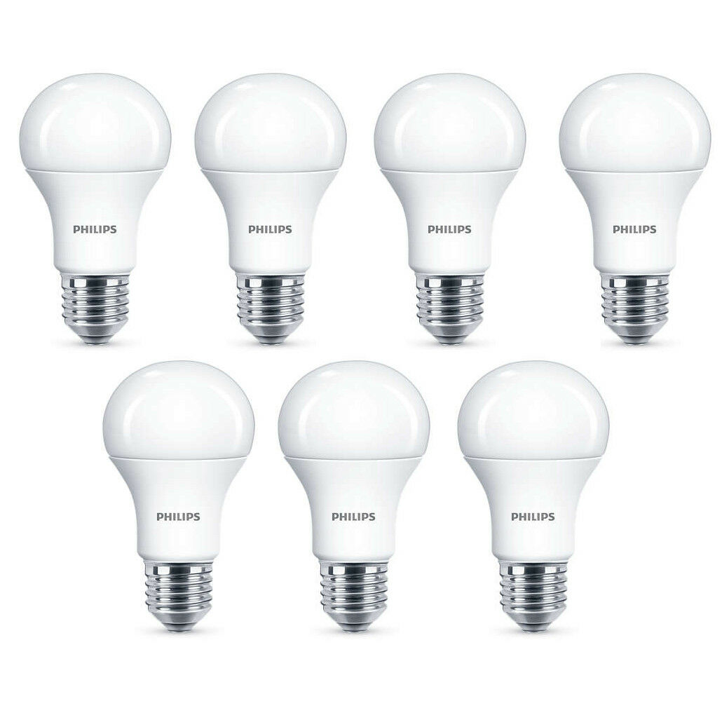 7x Philips LED Frosted E27 100w Warm Weiß Edison Screw Light Bulbs Lamp 1521lm