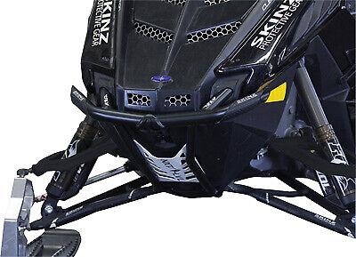 Black NXPRB200-FBK//WHT Skinz Protective Gear Rear Bumper for Polaris Pro