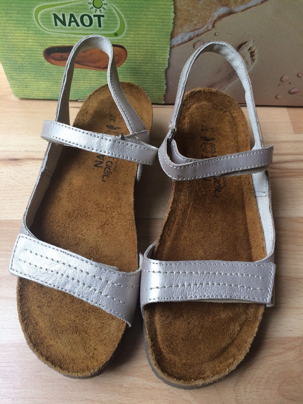 sz 7.5 NEW EILEEN FISHER Ogden Back Zip Black gray Stretch wedge sandal Shoes