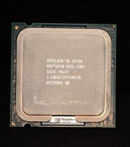 CPU Processor 2.6 GHz Free shipping Intel Pentium E5300 LGA 775//Socket T SLGTL