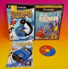 Surf's Up + Finding Nemo Disney 2 Games  - Nintendo GameCube NGC DreamWorks