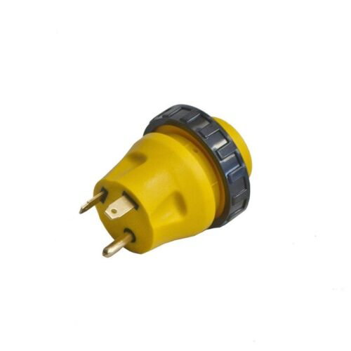 ALEKO RV Electrical Locking Adapter 30A Male To 30A Female Plug Connector