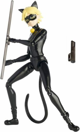 Coccinella Miraculous Ladybug Black Cat Action Figure articolata da 15cm BANDAI
