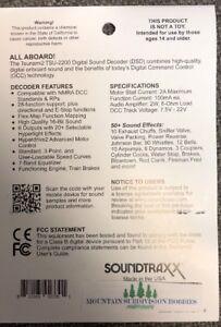 Soundtraxx 884007 Tsunami 2 TSU-2200 STEAM-2 Loco Sound Decoder    MODELRRSUPPLY