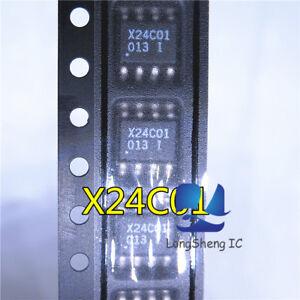 10PCS-X24C01-Encapsulation-SMD-1K-Bit-Serial-EEPROM-new