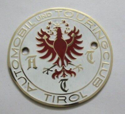 ûsterreich Car Badge Austria Ja Diligent Automobil Und Touringclub Tirol Plakette Auto