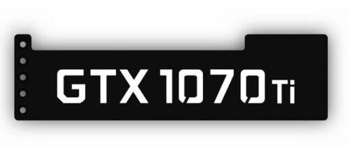 BLACK//WHITE 1070TI GPU Anti-Sagging Support Bracket//Brace GTX NIVDIA ROG