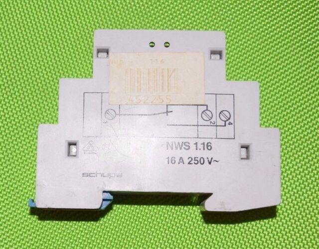 Schupa NWS 1.16 16 A 250 V 31 A