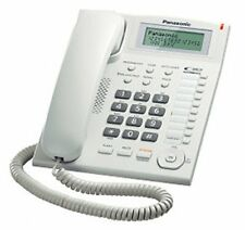 Panasonic  KX-TS880MX Corded Caller id Phone -White - 1Yr manufacturer warranty