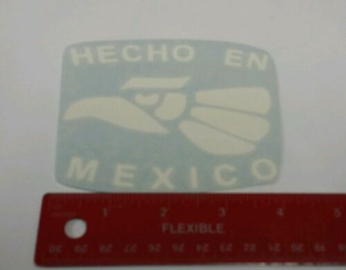Hecho En Mexico VINYL STICKER DECAL FOR CAR TRUCK LAPTOP TABLETS