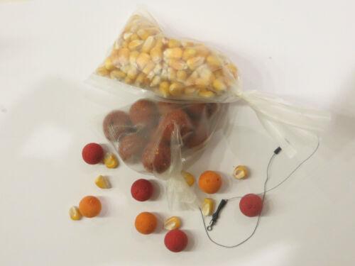 PVA-Bags 250 Stück wasserlösliche Beutel Boilies Partikel Karpfen anfüttern