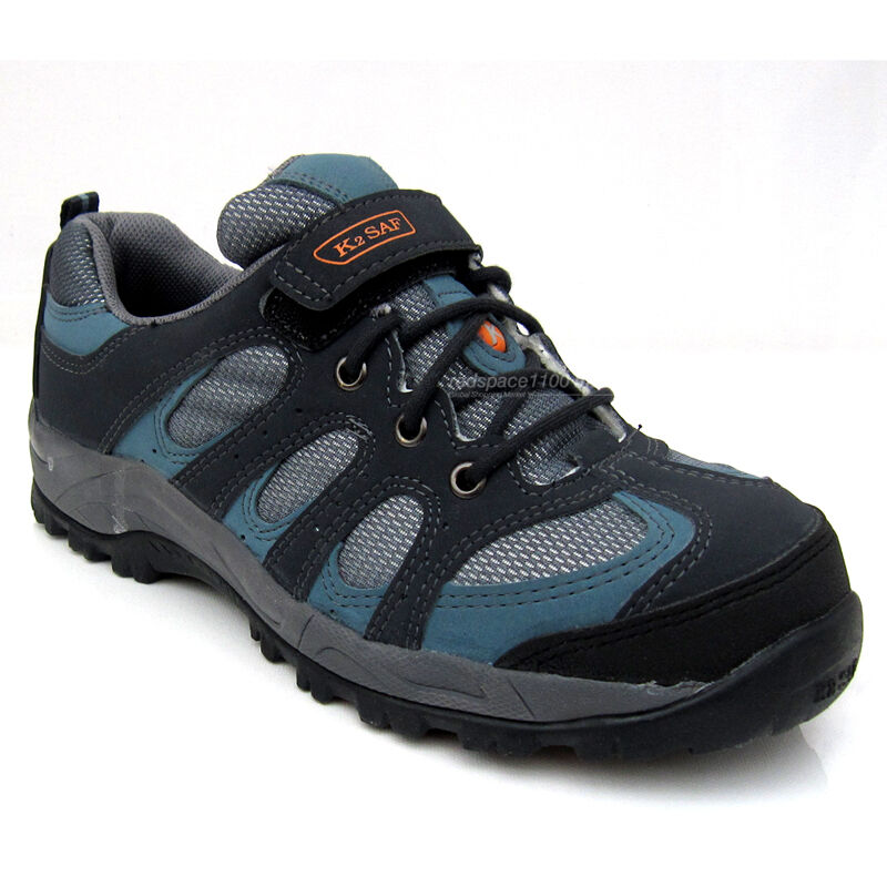 Mens Safety Steel Toe Cap safety zapatos work botas Synthetic Fabric Non-Slip