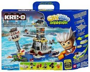 Kre-o-Kreo-Kreon-Cityville-Mayhems-Prison-Break-New-in-Box-Ships-Free