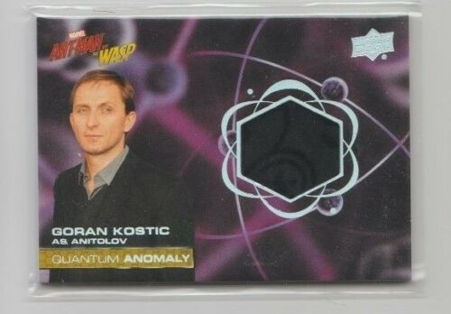 AntMan and the Wasp Costume Trading Card #QM7 Goran Kostic as Anitolov