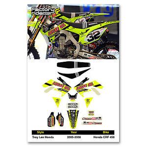 Enjoy MFG 2013-2016 CRF 450 Lucas Oil Swing Arm Stickers